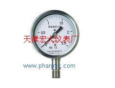 YTH-100耐高温压力表