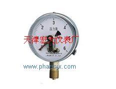 YXC-100磁助電接點壓力表