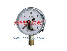 YXC-100磁助电接点压力表