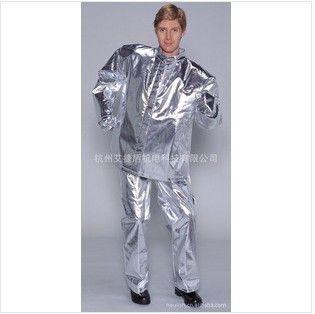 進口全涂鋁隔熱工作服 隔熱服 高溫防護服 涂鋁高溫隔熱服