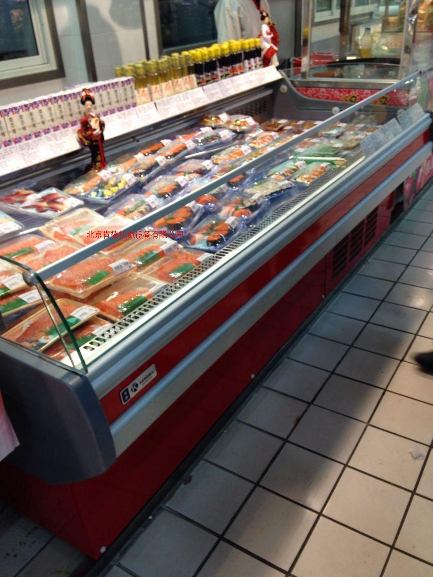 超市鲜肉柜 熟食冷藏柜 鲜肉冷藏展示柜 冷藏保鲜柜XFG-20