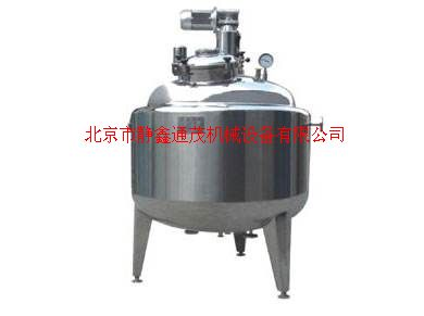 结晶罐|酒精醇沉罐生产厂家--北京市静鑫通茂