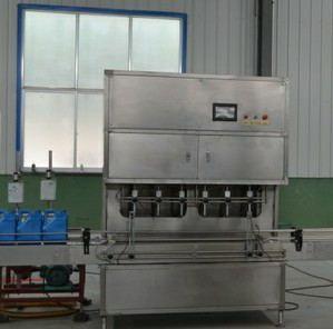 6头油类灌装机、全自动6头油类灌装机、全自动油类灌装生产线