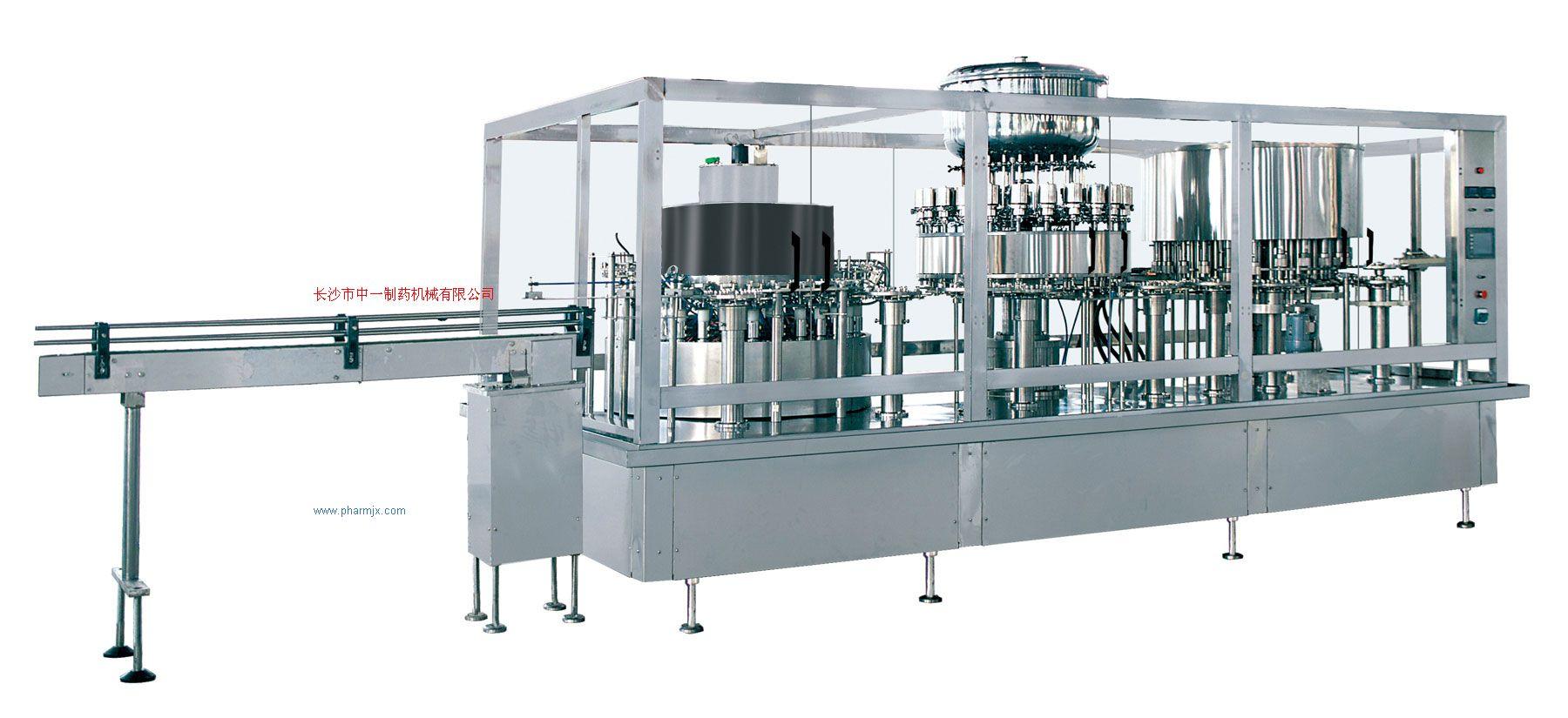 塑料瓶大輸液聯運機(氣洗)
