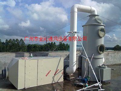 风机活性碳废气吸收塔