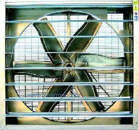 JS低噪音方型軸流通風機