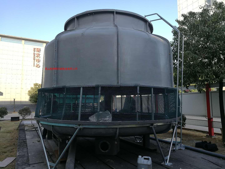 河北玻璃钢冷却塔厂家直销100T逆流式圆形冷水塔