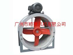 FT30C型玻璃鋼外接式軸流通風機