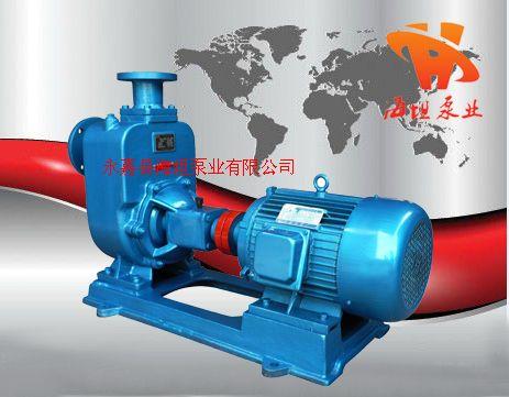 ZW型无堵塞自吸排污泵