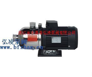 輕型臥式不銹鋼多級離心泵