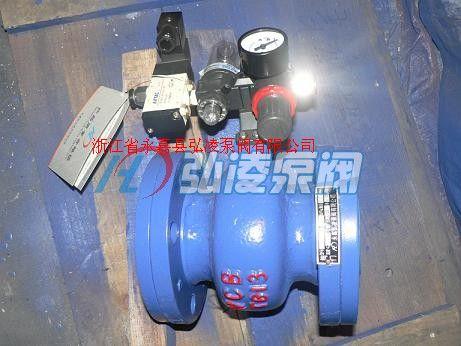 GJ841X-6C電動氣動管夾閥