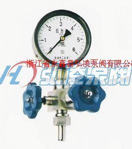 仪表针型阀(含压力表)