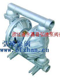 隔膜泵价格:QBY铝合金四氟气动隔膜泵