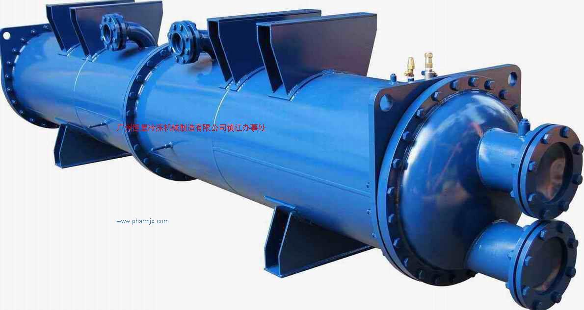 壳管换热器-盐水蒸发器-海水冷凝器