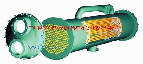 壳管换热器-壳管式冷凝器-壳管式蒸发器-满液式蒸发器