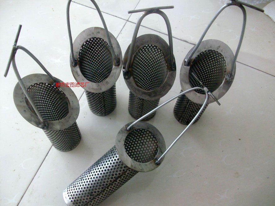 提籃式不銹鋼液壓油過濾器濾芯價格優惠