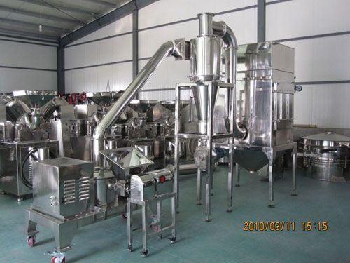 WFJ-15型超微粉碎机(江阴市双诚药化机械)碳酸钙超细粉碎机