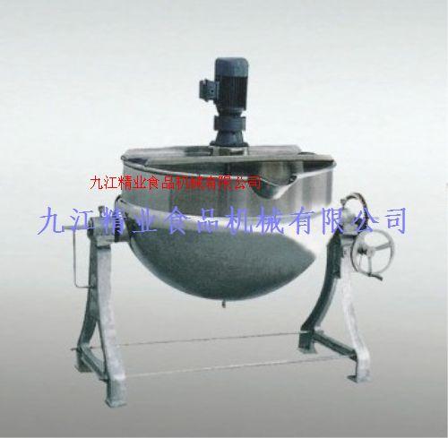 可倾式蒸汽搅拌夹层蒸煮锅