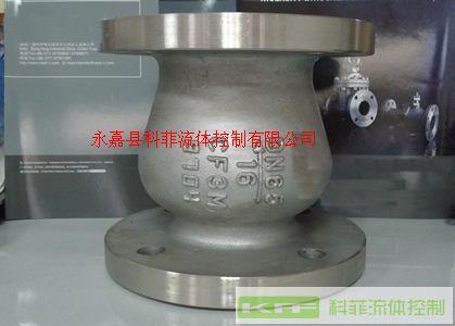 ZLH41不锈钢轴流式止回阀