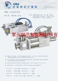 醫藥膏體灌裝計量泵