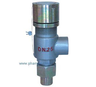A21H/W/F型彈簧微啟式外螺紋安全閥