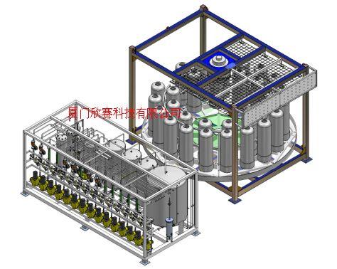 全自動化連續離交/連續離子交換設備