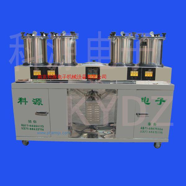 鹽城煎藥機、中藥煎藥包裝機KY8Y-200D(微壓密閉4+1)