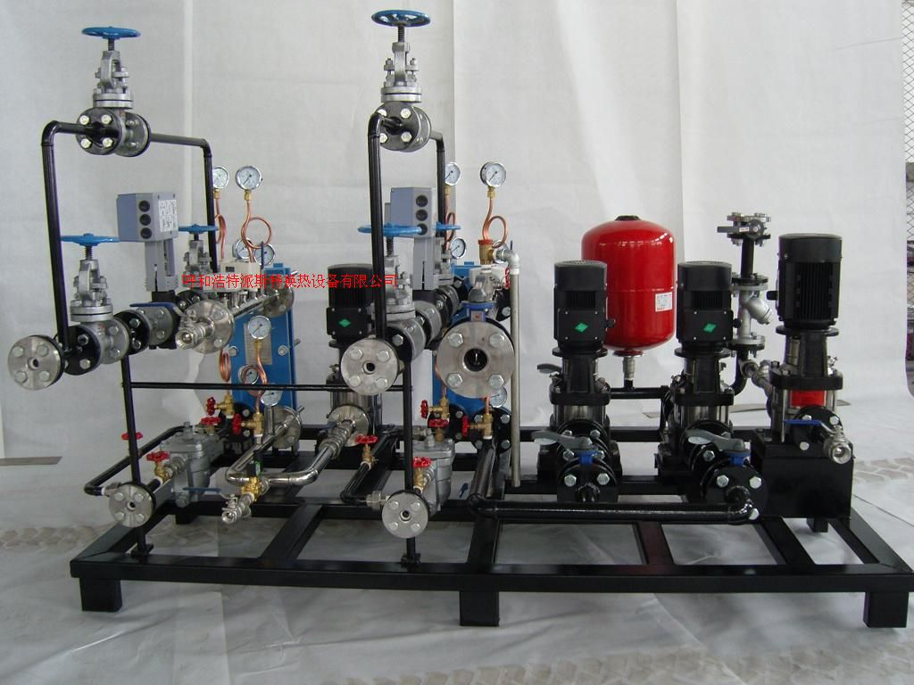 內蒙古汽-水換熱機組