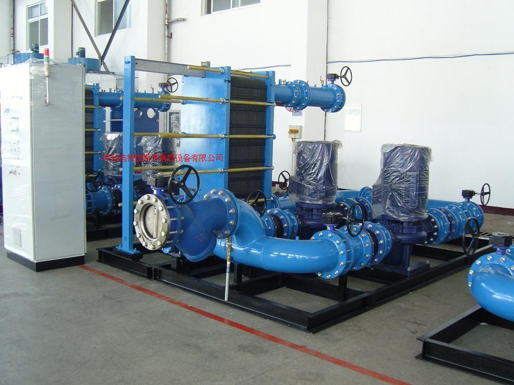 内蒙古集中供热板式换热机组