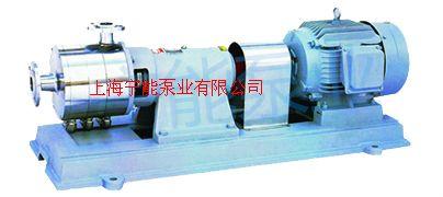 上海宁能多级不锈钢均质乳化泵