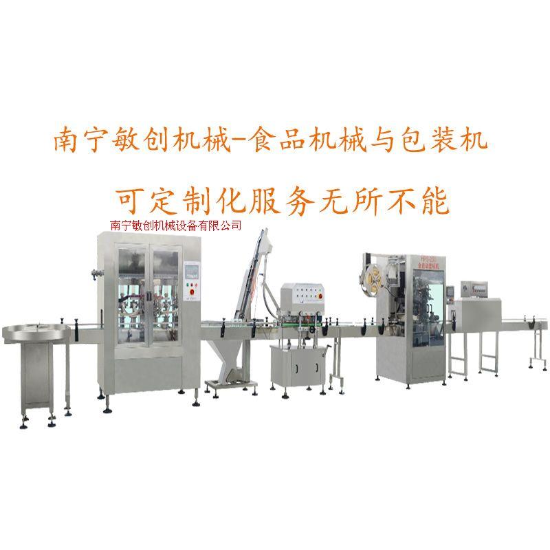 液体灌装机与液体灌装生产线
