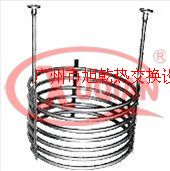 螺旋圓形法蘭式換熱器