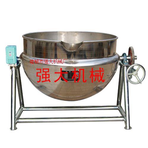 可倾式夹层锅/带搅拌夹层锅/电加热夹层锅/肉食蒸煮锅
