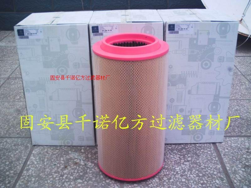 奔馳泵車0040943504空氣濾芯