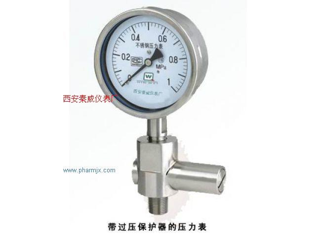 Y-BF系列不锈钢压力表
