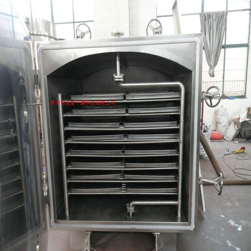 黄秋葵低温真空干燥箱 蔬菜方形静态真空烘干机化工真空烘箱