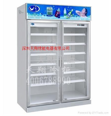 四门冷柜 玻璃门冷藏柜 医用冷柜 药用保鲜柜 展示药品柜