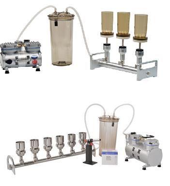 多联抽滤套装 三联换膜过滤器 六联换膜过滤器 微生物检测换膜过滤器