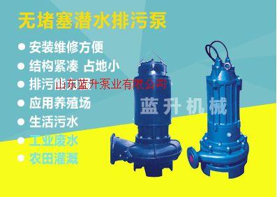 山東WQ系列潛水排污泵/污水泵