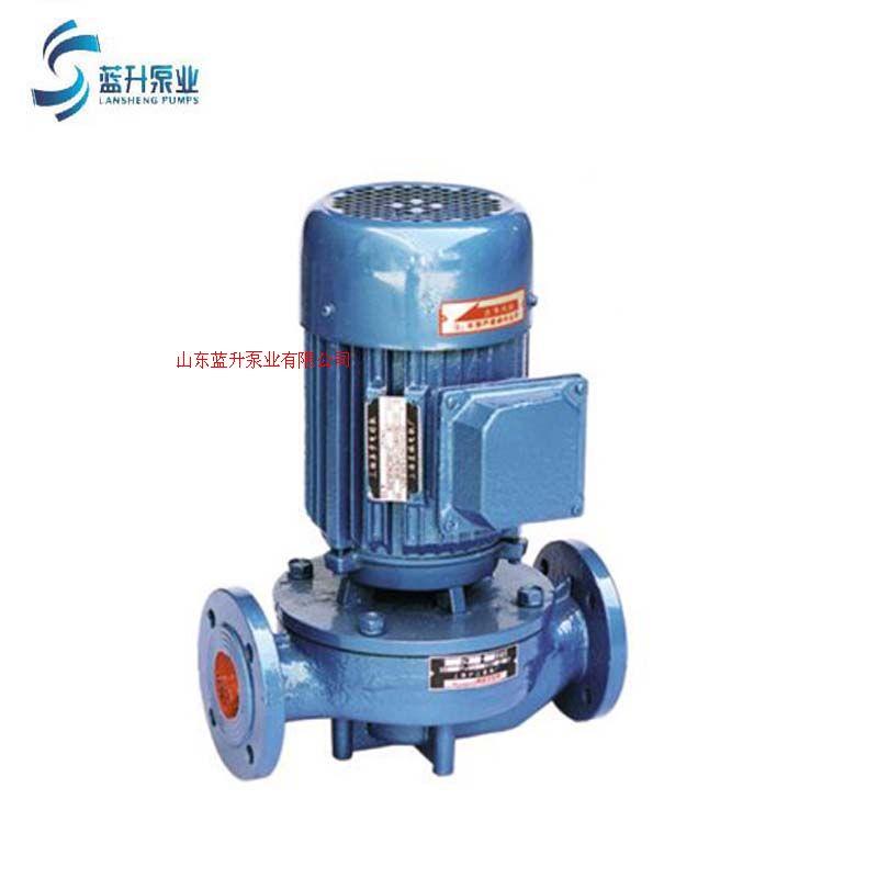 供應藍升耐高溫熱水管道循環泵工業泵
