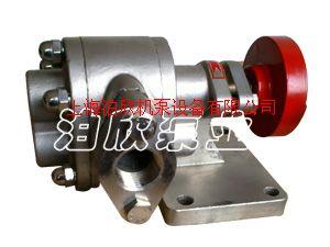 KCB不銹鋼齒輪泵試車時注意軸封泄漏與應用
