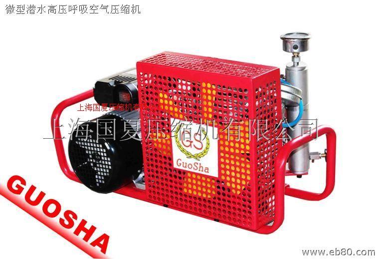 小型潛水用呼吸空氣壓縮機