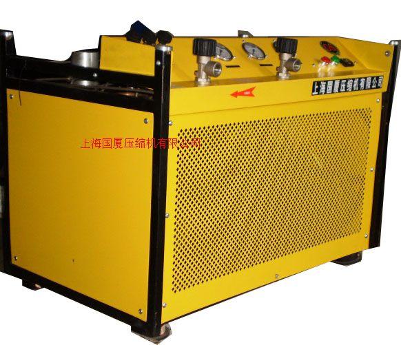 消防呼吸充气空气压缩机,充瓶用的消防呼吸压缩机