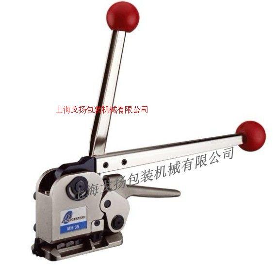 湖南手动免扣打包机+上海戈扬机械+甘肃手动钢带打包机