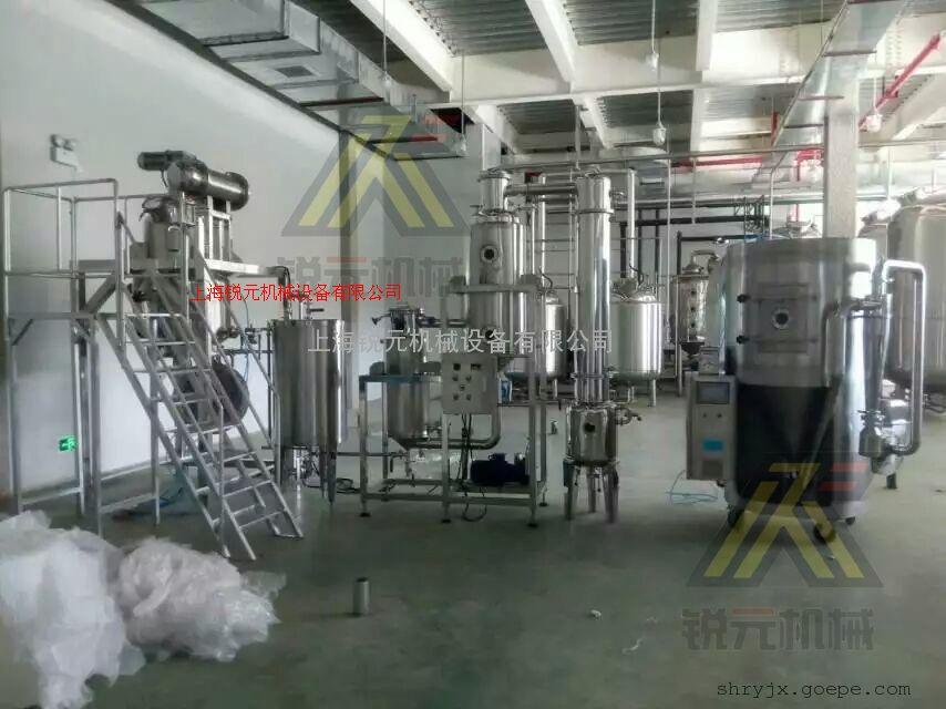 新品研发与生产胶囊剂生产线