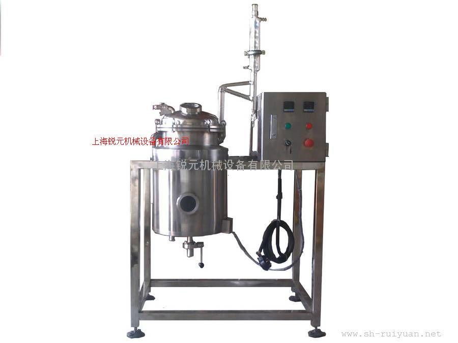 研制新品与生产20L艾草精油提取设备