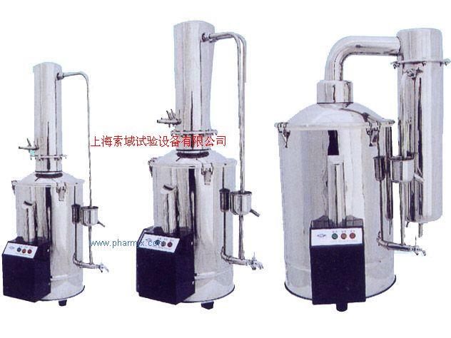 每小时5升 10升 20升不锈钢电热蒸馏水发生器|蒸馏器