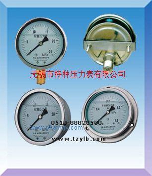 卡箍安装耐震不锈钢压力表Y-60B/Z/U Y100B/Z/U Y150B/Z/