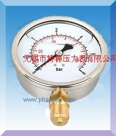 耐震双刻度压力表YN-50/YN60/YN75/YN100/YN150