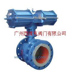 BQ647型氣動閥門(通徑)